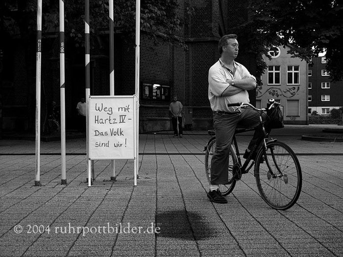 Blackandwhite Ruhrgebiet Protest Bw_collection