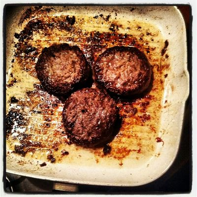 Dinner Cooking Hamburger Mickey Mouse