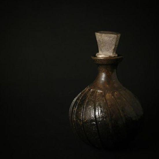 Pottery Ceramics Blackandsilver Newmoon Potion