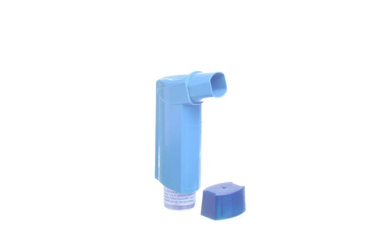 Inhaler Asthma Aerosol Isolated On White Aerosol Allergy Asthma Bronchitis Disease Inhaler Nebulizer Respiratory Treatment White Background