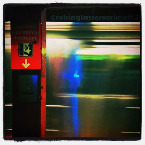 no2 train rushing into station at 72 nd street IPhoneography Mta Blurred NYC Subway