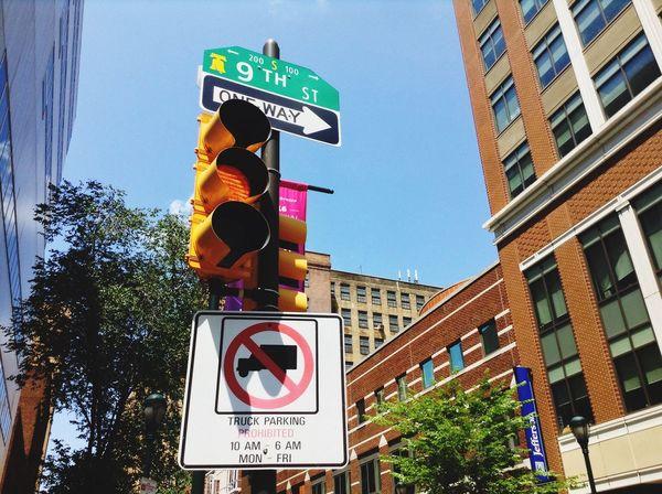 Traffic Lights Street Signs Street Corner City Street Cityscape