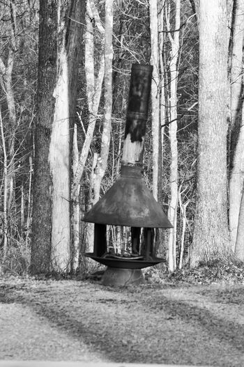 Old Rusted Metal Stove in the Woods of Pennsylvania Black & White Forgotten Stove Abandoned Black And White Broken Fireplace Metal Nature No People Outdoors Rusted
