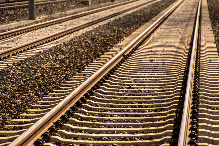 View of railroad tracks