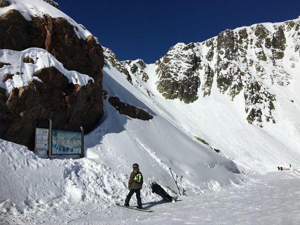 Adventure Beauty In Nature Cold Temperature Leisure Activity Mountain Mountain Range Scenics - Nature Snow Snowcapped Mountain Sport Winter Winter Sport