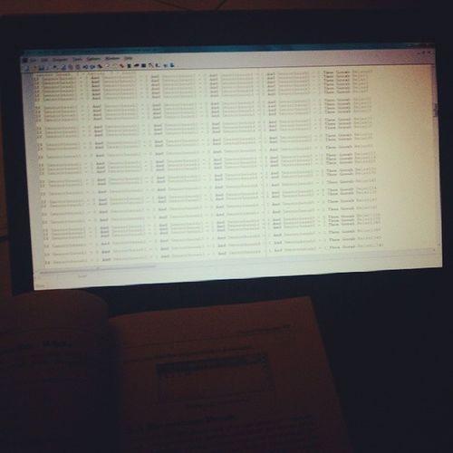 Kerjaan pagi ini dikost mengulang kembali memori ttg pemrograman tugas akhir dulu Loveprogramming ?