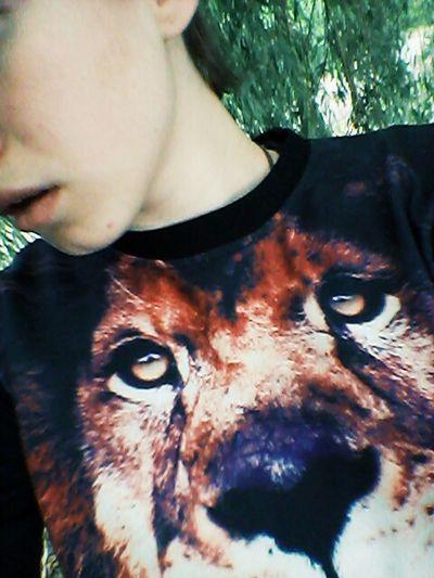 Я русалка я свитер лев