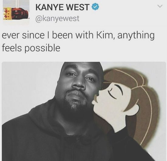 I love you like Kanye loves Kanye Text Communication One Person Indoors  Young Adult Day Adult People