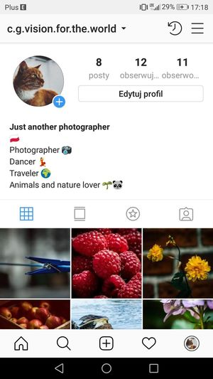 Here is my new Instagram if anyone would be interested 😉😇 ➡️ c.g.vision.for.the.world First Eyeem Photo #photography Instagood ınstagram Photographylovers