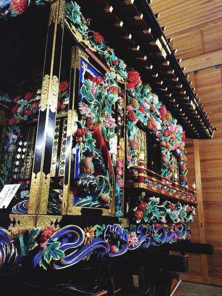 彫刻 華やか 彫刻屋台 栃木県 鹿沼 Japan Kanuma