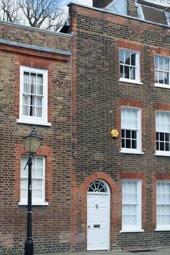 Large Townhouse Hampstead London Architecture Building Exterior Built Structure Brick Wall Building Brick Residential District Town House Urban Posh London
