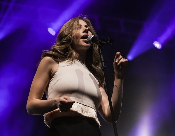 Rachel Price of Lake Street Dive performing at BRIC Celebrate Brooklyn! Festival on June 7th. Arts Culture And Entertainment One Woman Only Singing Popular Music Concert Rock Music Musician Singer  EyeEmNewHere Rock Musician First Eyeem Photo