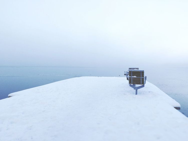 Chair by the sea. Voigtländer Voightlander Nokton 25mm F1:0,95 Olympus OlympusPEN Olympus Pen-f Olympus Pen F Fog Foggy Voigtländer NOKTON Winter Ice Frozen Landscape Environment Tranquility No People Cold Temperature Beach Outdoors Sea Day Scenics Nature Winter Water Horizon Over Water Sky Mountain Beauty In Nature Clear Sky Shades Of Winter