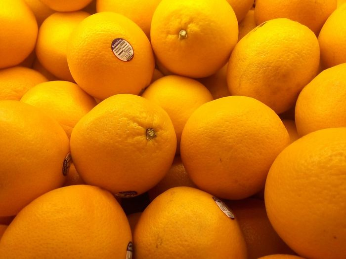 OrangeBeautifully Organized Fruit Freshness Citrus Fruit Healthy Eating Yellow Orange - Fruit No People Market Food Close-up Sour Taste Day