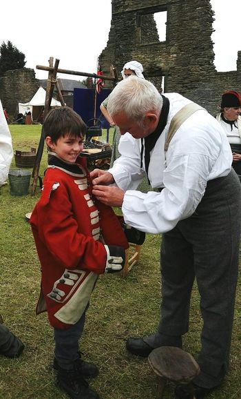 Manorcastle Sheffield Enjoying Life Reenactors Makingmemories Children Photography Southyorkshire Borninthewrongera Handsome Boy Children Reenacting Coldstreamguards Dayoutwithkids Peopleandplaces