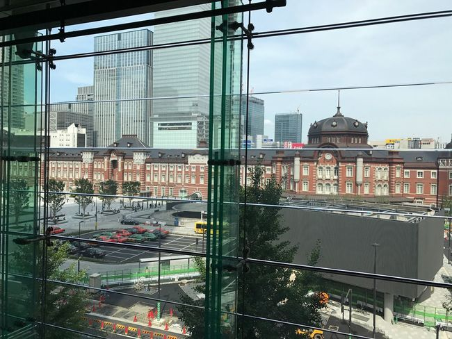Tokyo station. Architecture Built Structure Building Exterior City Day Transportation Outdoors Sky No People Tree Cityscape EyeEm Tokyo Tokyo Station Station Central Marunouchi