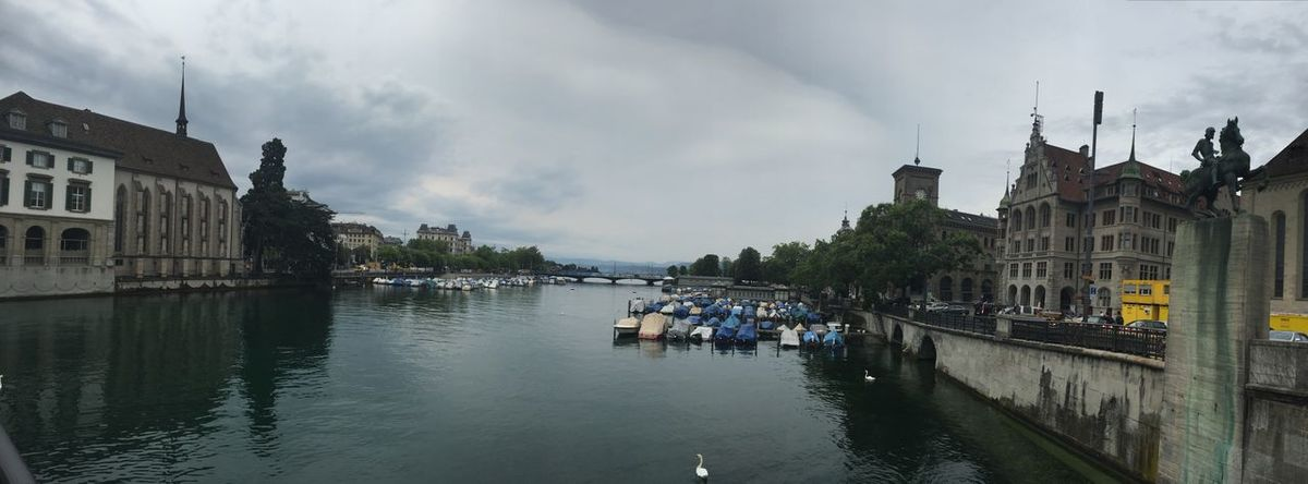 Zürich City Cityscapes Cityscape City View  River Riverside River View Riverscape Eye4photography