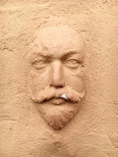 Face Art Is Everywhere Sculpture Old Buildings Thatch Old Pub Minimalism Wise Facial Hair Beard Moustache Portrait Man Textures And Surfaces Architecture Wall Architecture_collection Face On A Wall
