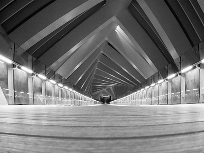 Absence Architectural Column Architecture Blackandwhite Built Structure Ceiling Diminishing Perspective Direction Empty Illuminated Indoors  Light Lighting Equipment Long Modern No People Pattern Public Transportation Subway The Way Forward Transportation Underground Walkway Underpass