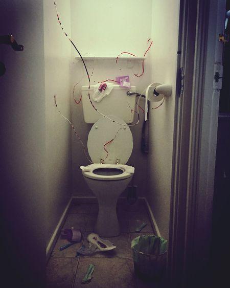 Title: Suffering Date:19/10/2016 Creativity Installation Myartwork Art Bathroom Fineart