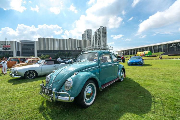Classic Industrial Market Road Show Sale Transport Transportation Volkswagen Beetle Beetle Car Limited Merdeka Nostalgia Van Vintage Volkswagen