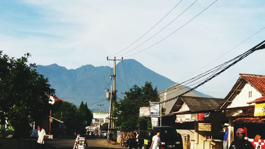 My Neighborhood Bukit Asri Ciomas, Bogor.. Nature On Your Doorstep Mountain View People On The Street Taking Photos Roadandscenery Streamzoofamily Beautiful Day Cityscapes Enjoying Nature Stories From The City