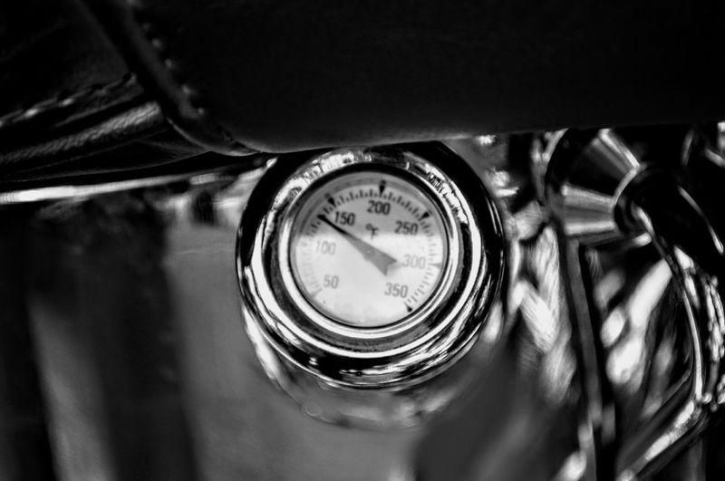 Close-up speedometer
