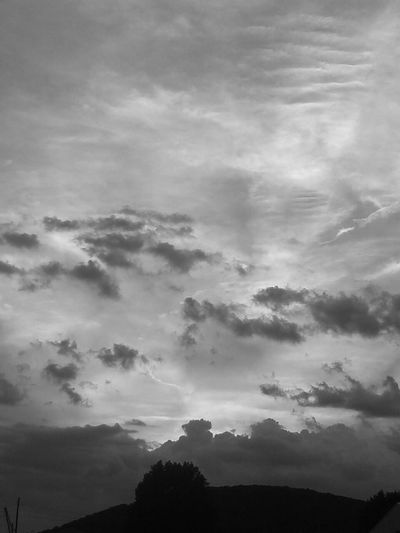 Love the feel of this one.. Cloudscape Bnw_captures Clouds, Nature, My View Bnw Clouds Sawonmyadventure Check This Out Very Inspired By My Muse My Cloud Obsession☁️