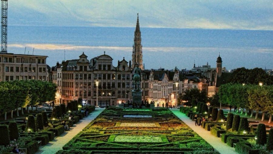 Plaza de Bruselas The Explorer - 2014 EyeEm Awards The Illuminator - 2014 EyeEm Awards The Architect - 2014 EyeEm Awards Colors Of The Night