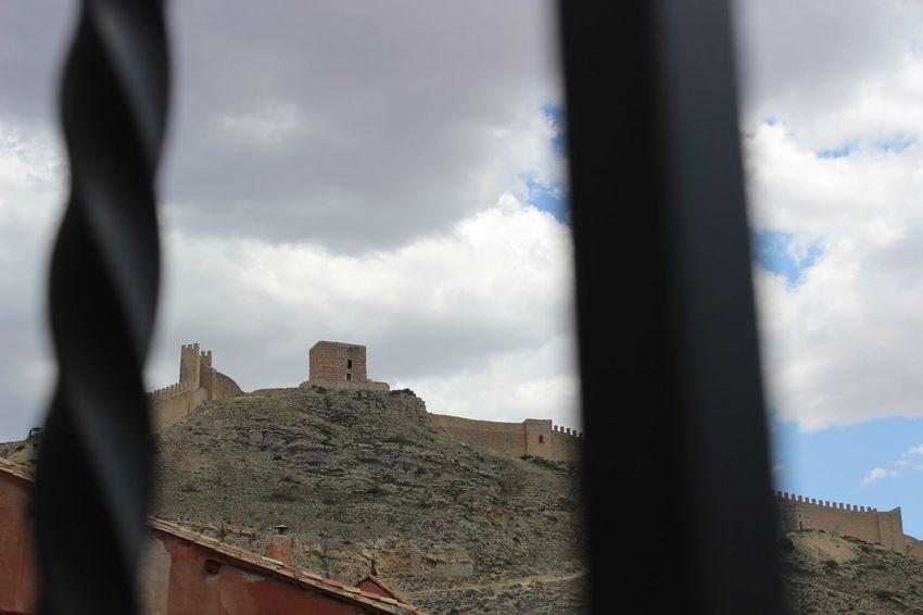 Albarracín Arquitecture SPAIN Cielo Medieval Paisaje Paisaje Natural