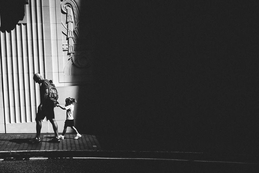 Fatherhood EyeEm Best Shots EyeEmBestPics Blackandwhite Photography Blackandwhite Black & White Monochrome Monochromatic Black And White EyeEm Best Shots - Black + White Light And Shadow Shadows & Lights Streetphotography Street Photography Streetphoto_bw Anythingbutbeautiful Citylife