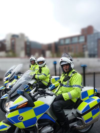Police At An Event...x Policemen Police Policeman Officers Motorcycle Motorbike Law Uniform Urban Lifestyles Workers Liverpool Merseyside
