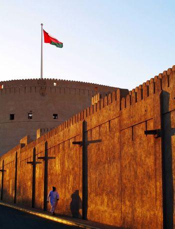 Sunset Nizwa Oman Old Fort Hidden Gems  Historical Sights Visit Oman