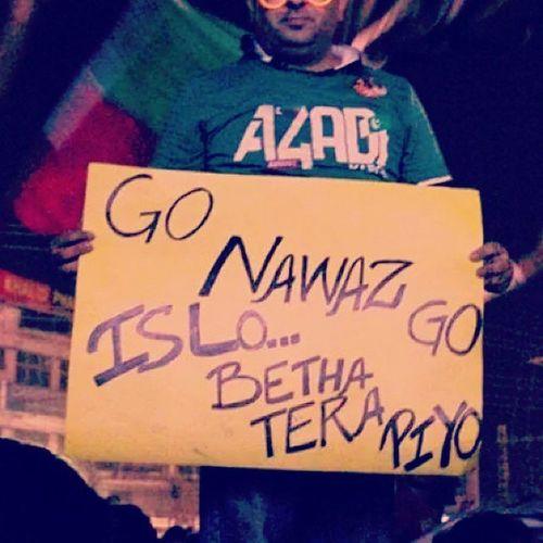 Go Nawaz Go. Pti PTISupporter NawazSharif NawazSharifPickupLine NawazTrolls pakistani pakistanthing GoNawazGo