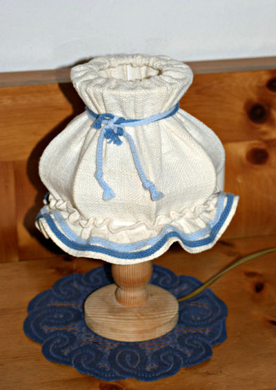 These lovely little lamps are so cozy. Many hotels in Bavaria has these sweet lamps, but many are being replaced. Bauernstil Bavarian Tradition Close-up Lamp Linen Lamp Sh No People Still Life Wood - Material Wooden