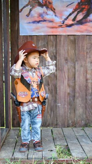 Cowboys Young Cowboy Child Childhood Representing Adventures In The City