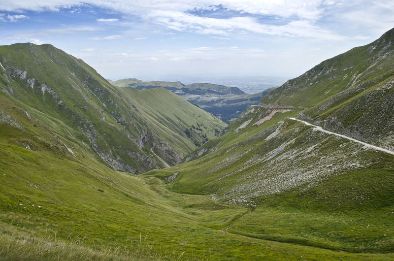 Beauty In Nature Day Fargno Landscape Marche Montagna Mountain Nature No People Outdoors Sibillini Sky Go Higher