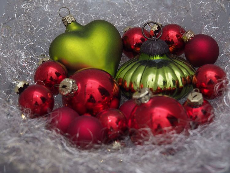 Christmas decoration with angel hair in Ortenberg Germany Food Still Life Fruit Food And Drink Red Close-up