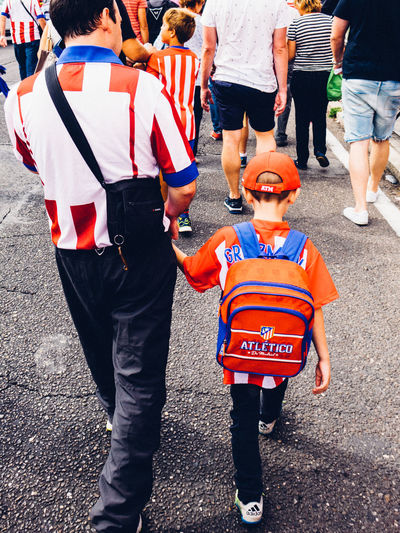Atlético De Madrid Fans Football Fans Game Day Madrid Madrid Spain Match - Sport Match Day Soccer Soccer Fans SPAIN The Photojournalist - 2017 EyeEm Awards