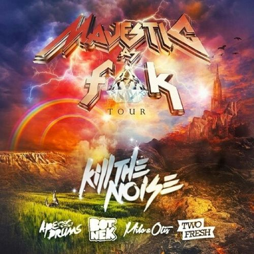 Killthenoize Apedrums Botnek Milo &otis twofresh tour