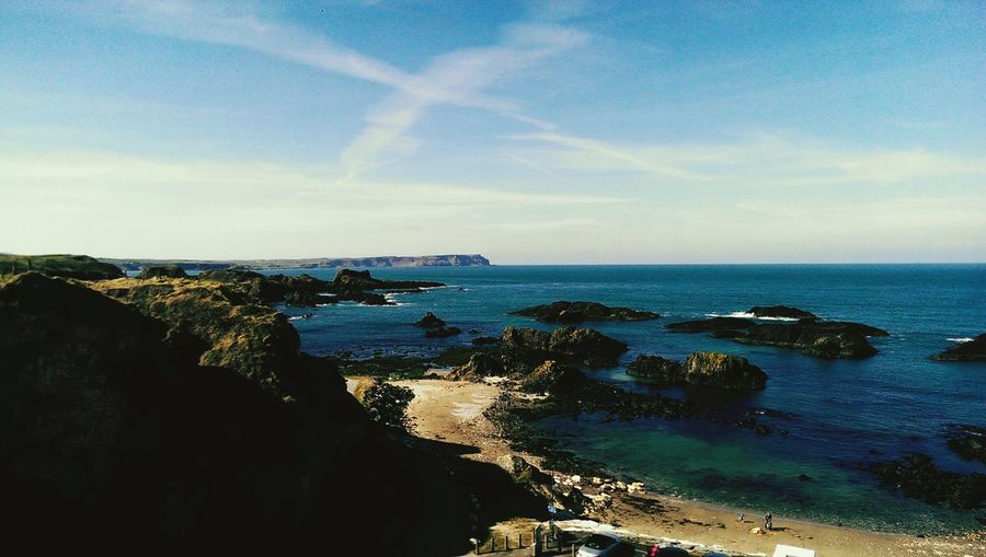 Northern Ireland On The Shore Sea View Ballintoy Suzi77 Colour Photography