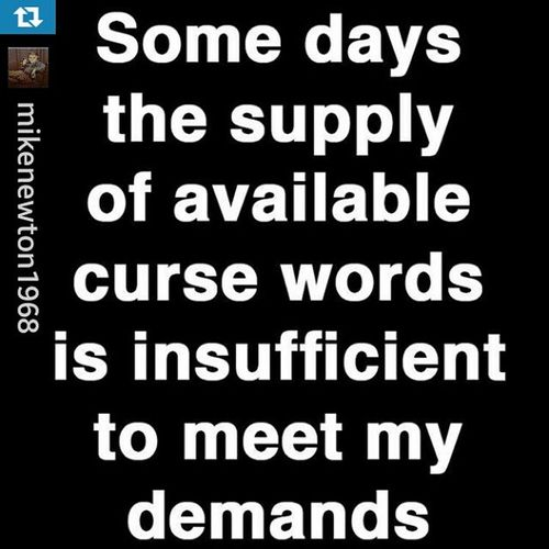 Repost from @mikenewton1968 with @repostapp — Some days... Truth