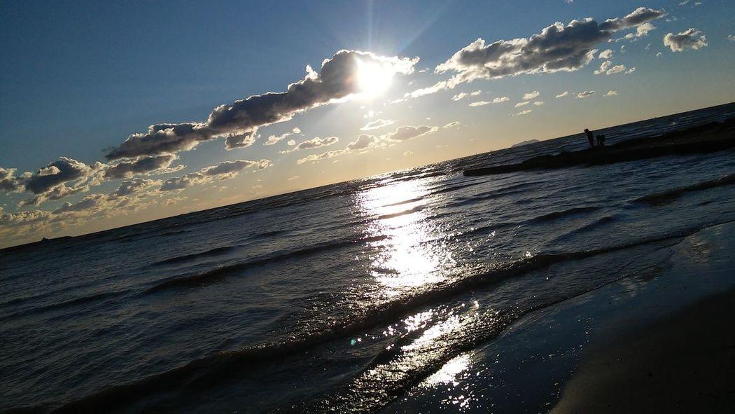 Mare Tirrenia Tramonto Sea And Sky Sea Sea_collection Sunsetlover Sunset_captures Nature Photography