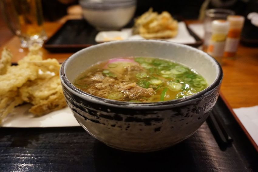 Tenjin Fukuoka Noodles Udon Trip Table Serving Size Meal Japanese Food Healthy Eating Soup Close-up Day