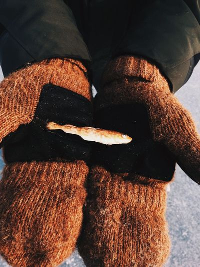 One Person Real People Human Body Part Low Section Human Leg Women Close-up One Woman Only Indoors  Day Only Women Human Hand People Fish Frozen Hands Russia Winter Cold EyeEmNewHere