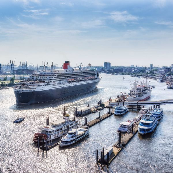 Queen Mary 2 Hafen Hamburg