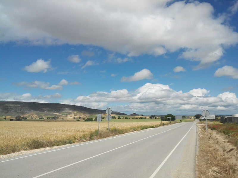 Camino Camino De Santiago CaminodeSantiago Clouds El Camino De Santiago Jakobsweg Pilgern Pilgrimage Road Sommer Straße Summer Way Way Of Saint James Weg Wolken
