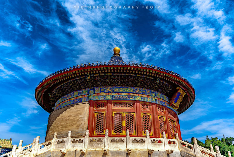 Beijing, China Beijng History Lover History Museum  History Through The Lens  Historycal Place Tiantan Park Architecture Building Exterior Built Structure Cloud - Sky Day History History Architecture History Building History Lesson History Of Arts History Place History Sights Low Angle View No People Outdoors Sky Travel Destinations Tree
