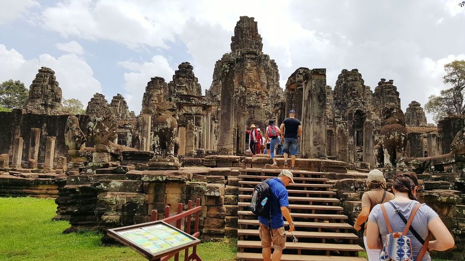 Religion Travel Destinations Built Structure Spirituality Tourism Place Of Worship Ancient Building Exterior Architecture Old Ruin Travel History Buddhist Temple Vacation Destination Angkor Wat, Cambodia Beautiful Places In The World My Smartphone Life