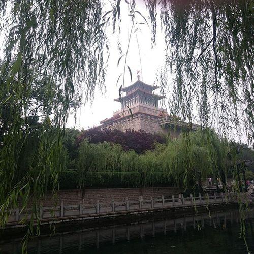 黑虎泉 济南 Jinan 解放阁